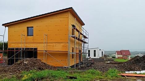 Pasivní dřevostavba rodinného domu – čidla MoistureGuard jako součást výzkumu Fakulty lesnické a dřevařské v Praze